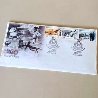 First Day Cover 200 Years Police Force