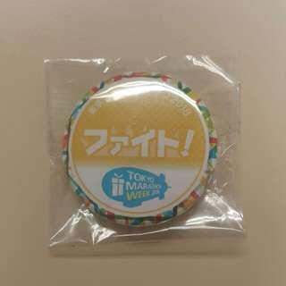 Tokyo Marathon Week 2018 記念襟章