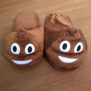 Poop Emoji Bedroom Slippers