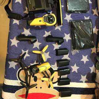 parrot bebop drone 1代 加遙控器 加背包