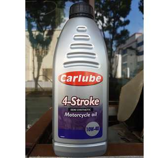 Carlube 4 Stroke 10w40 motorcycle engine oil 1L on Promotion~~