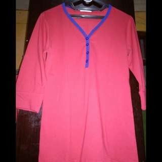 Baju Casual Red