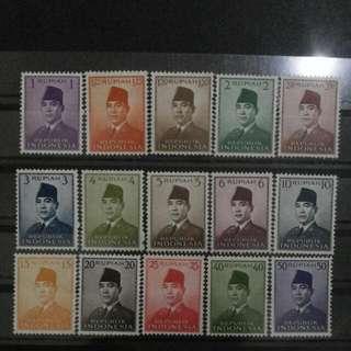 Seri Perangko Presiden Soekarno 1951