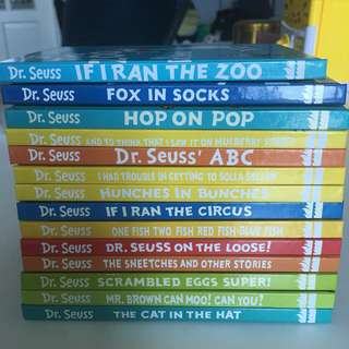Dr. Seuss (Hard back)- Many titles to choose from