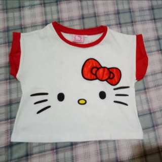 Hello Kitty Crop Top (3T)