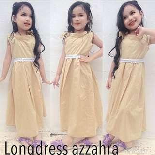 Long dress anak perempuan
