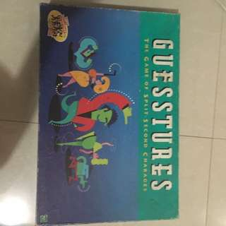 Guesstures First Edition