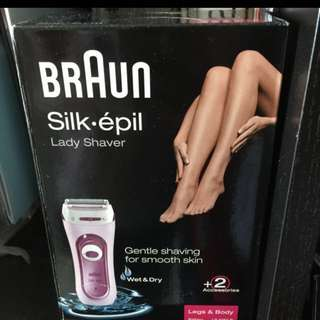 NEW Braun Silk Epil Lady Shaver Imported from Japan