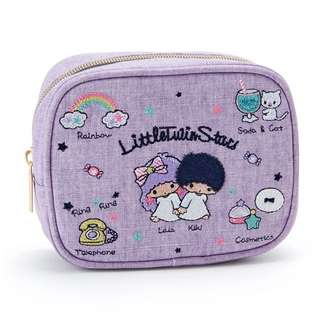 Little Twin Stars embroidery pouch