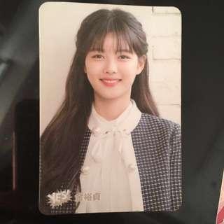 韓星yes card (全新,包平郵)