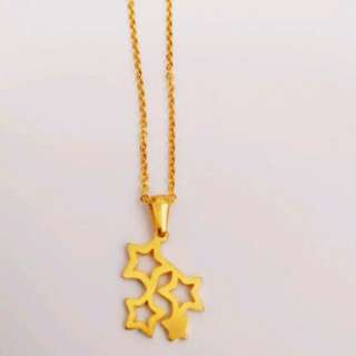 Cluster of stars necklace