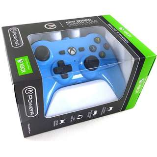 [BNIB] Official Microsoft Licensed Xbox One XB1 & PC PowerA Mini Wired Controller - Cool Blue (Brand New Boxed)