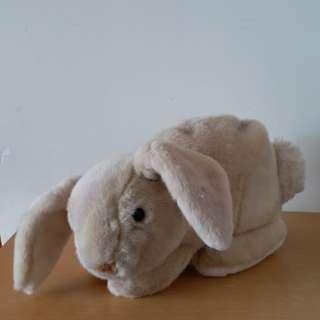 長耳毛兔兔暖水袋套
