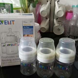 Avent 4oz Bottle (take All 3)