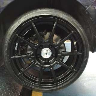 Goodyear Eagle F1 Asymmetric 3 (205/40/17) - only tyres
