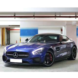 2015 / 2016 Mercedes-Benz AMG GTS Edition One