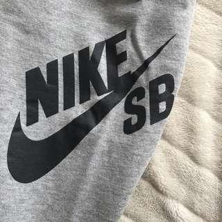 NIKE SB grey track pants