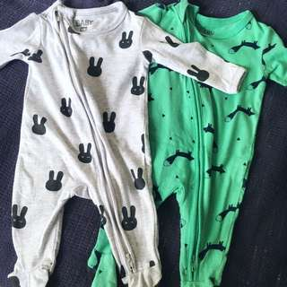 2 for $8 Cotton On Sleepsuit