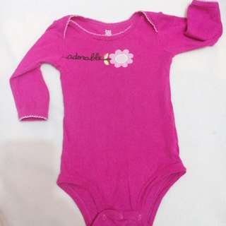 Carters onesie for 9-12m