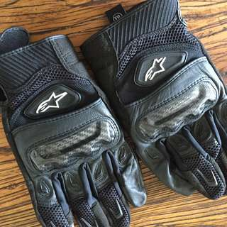 Motorcycle Gloves Alpinestars SMX2 AC Size XXL