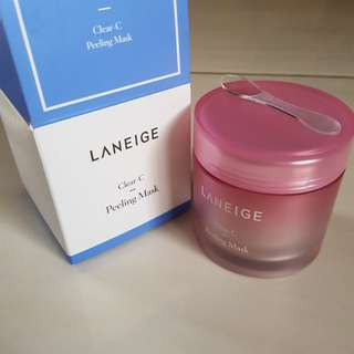 Clear C LANEIGE mask
