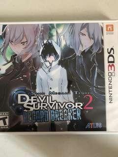 Devil Survivor 2: Record Breaker - Nintendo 3DS