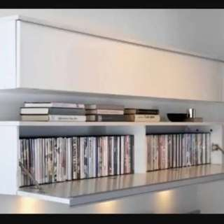 Ikea besta wall shelf