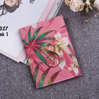 Victoria Secret Flora Passport Cover 0027