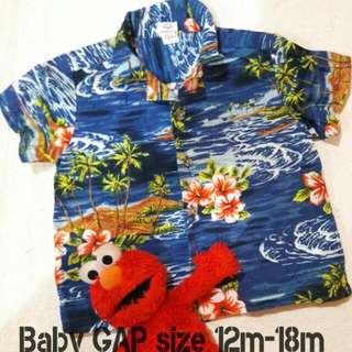 GAP Hawaian shirt/ Kemeja Hawai GAP KID