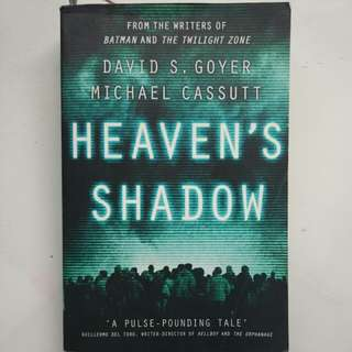 (Buku Import) Heaven's Shadow by David S. Goyer and Michael Cassutt