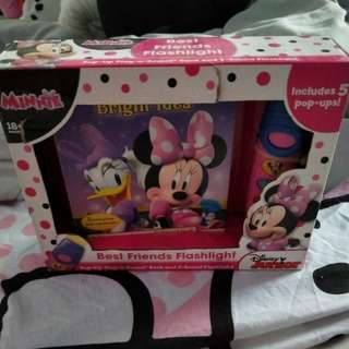 Disney Minnie Pop-up Play a sound book and 5-sound Flashlight