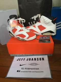 Jordan 6 Gatorade