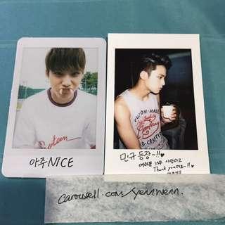 Seventeen SVT Mingyu Official Photocard