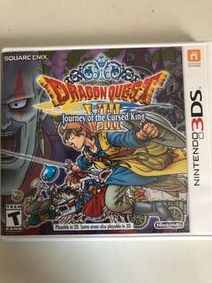 Dragon Quest VIII - Journey of the Cursed King - Nintendo 3DS