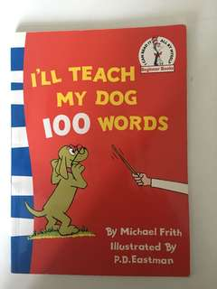 I'll Teach my Dog 100 Words (I can read it all by myself, beginner)