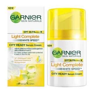 Garnier Light Complete City Ready Serum Cream