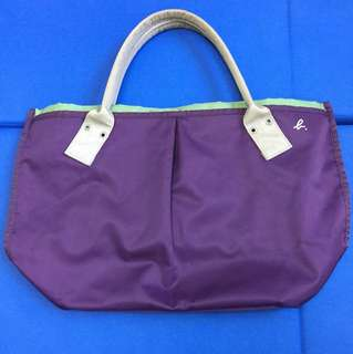 Agnes b 紫色手袋