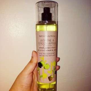 Authentic Bath & Body Works Jasmine & Apple Body Mist