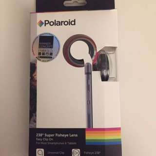 Polaroid clip on 3 in 1 fisheye & wide angle lens