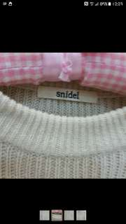 Snidel日本品牌針織洋裝