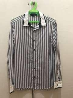 Black & White Stripes Long Sleeves