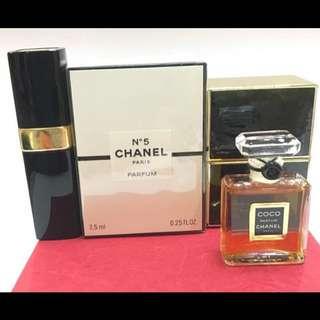 Chanel Parfum Set