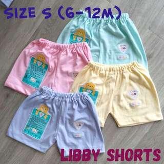 6-12m Libby Shorts