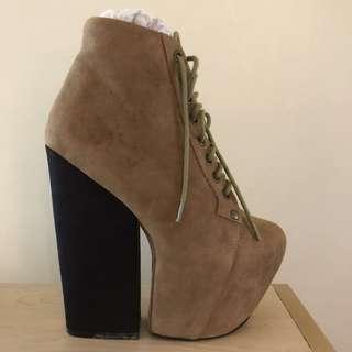 Jeffrey Campbell Freda Shoes Boot Heels