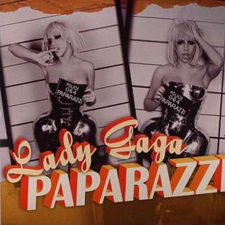 LADY GAGA 'Paparazzi' Picture 7""