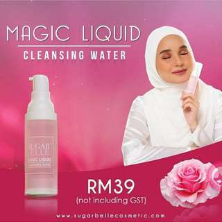 Make up cleansing water/cleaner