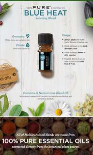 Blue heat essential oil from Melaleuca 5ml