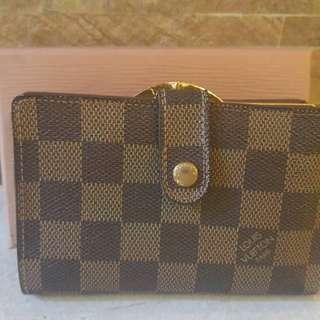 Authentic used Trifold Louis Vuitton Damier ebene