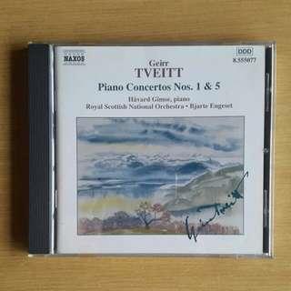 Tveitt: Piano Concertos 1 & 5 (Havard Gimse)