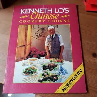 Kenneth Lo's Chinese Cookery Course Cookbook